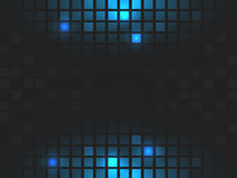 Abstract  square blue mosaic background with place for your content. Stock Photos