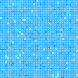 Abstract square blue mosaic background. Royalty Free Stock Photos