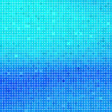 Abstract square blue mosaic background. Royalty Free Stock Images