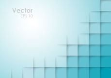 Abstract Square Blue Vector Background Stock Photography