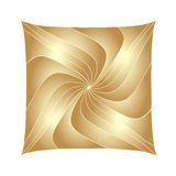Abstract Square - Copper Fractals Royalty Free Stock Photography