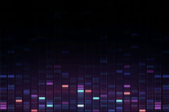 Abstract square cube music background Stock Photo