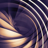 Abstract square dark digital background, 3d spiral. Structure Stock Illustration