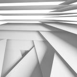 Abstract square digital background 3 d art. Abstract square digital background with white chaotic multi layered stripes, 3d illustration vector illustration