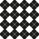 Abstract square figure as seamless pattern Royalty Free Stock Photo