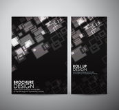 Abstract square. Graphic resources design template. Stock Images