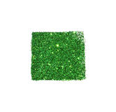 Abstract square of green glitter sparkle on white background for your design Royalty Free Stock Images