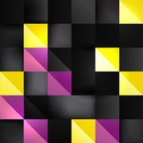Abstract square infographic background Royalty Free Stock Photo
