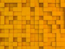 Abstract square mosaic background. 3D. Rendering Royalty Free Stock Images
