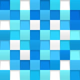 Abstract square mosaic Royalty Free Stock Image