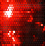 Abstract Square Mosaic red Background Royalty Free Stock Photography