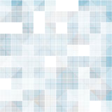 Abstract square at overlapped, blue tone background Stock Illustration