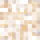 Abstract square at overlapped, brown tone background Royalty Free Stock Photography