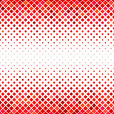 Abstract square pattern background - vector graphic design from diagonal squares in red tones Royalty Free Stock Photography