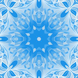 Blue dalle ornament Royalty Free Stock Photos