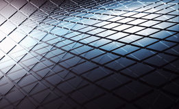 Abstract square patterns layers, 3d illustration Royalty Free Stock Photography