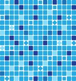 Abstract square pixel mosaic Stock Photos