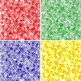 Abstract square pixel mosaic Royalty Free Stock Photos