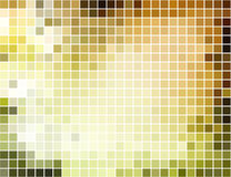 Abstract square pixel mosaic background Stock Photography