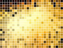Abstract square pixel mosaic background Royalty Free Stock Photos