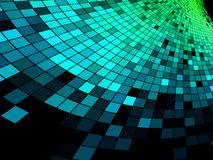 Abstract square pixel mosaic background Royalty Free Stock Image