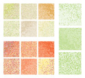 Abstract square pixel mosaic Royalty Free Stock Image