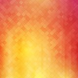 Abstract square pixel mosaic background stock image