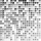 Abstract square pixel mosaic background. Abstract gray square pixel mosaic background Royalty Free Stock Images