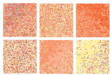 Abstract square pixel mosaic Royalty Free Stock Photo