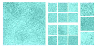 Abstract square pixel mosaic Royalty Free Stock Photography
