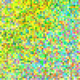 Abstract square pixel mosaic background. Royalty Free Stock Photo