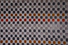 Abstract square polka dots stock photo