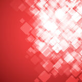 Abstract square red background. Vector Illustration Royalty Free Stock Images