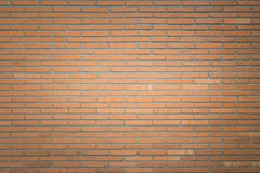 Abstract square red brick wall background Stock Photo