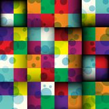 Abstract square seamless background Stock Image