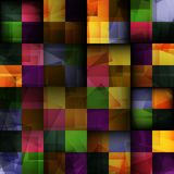 Abstract square seamless background Royalty Free Stock Photos