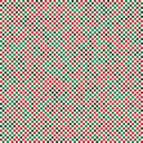 Abstract square seamless texture xmas Royalty Free Stock Photo