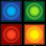 Abstract square shape Stock Image