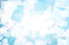 Abstract square shape background Stock Image