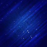 Abstract Square Shapes Blue Background Royalty Free Stock Photos