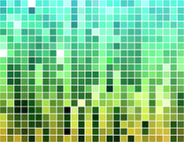 Abstract square tiled mosaic background Stock Photos