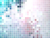 Abstract square tiled mosaic background Royalty Free Stock Image