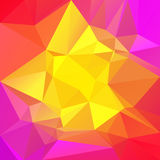 Abstract square triangle background. Stock Photography