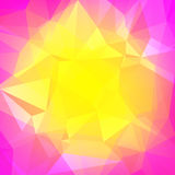Abstract square triangle background. Stock Photo