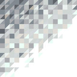 Abstract square and triangle pixel background Royalty Free Stock Photos