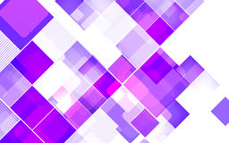 Abstract square violet background. Vector Illustration Stock Image