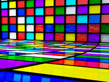 Abstract squares Stock Photography