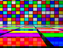 Abstract squares Royalty Free Stock Photos