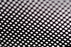 Abstract squares. Abstract grid pattern, small scale black and white squares royalty free stock image