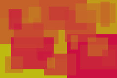 Abstract Squares. Different sized and colored squares overlapping each other Stock Image